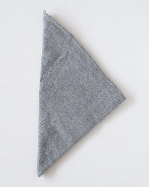 The Bandana | White Herringbone