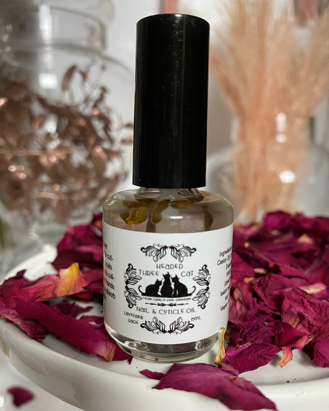 Lavender & Sage Cuticle Oil