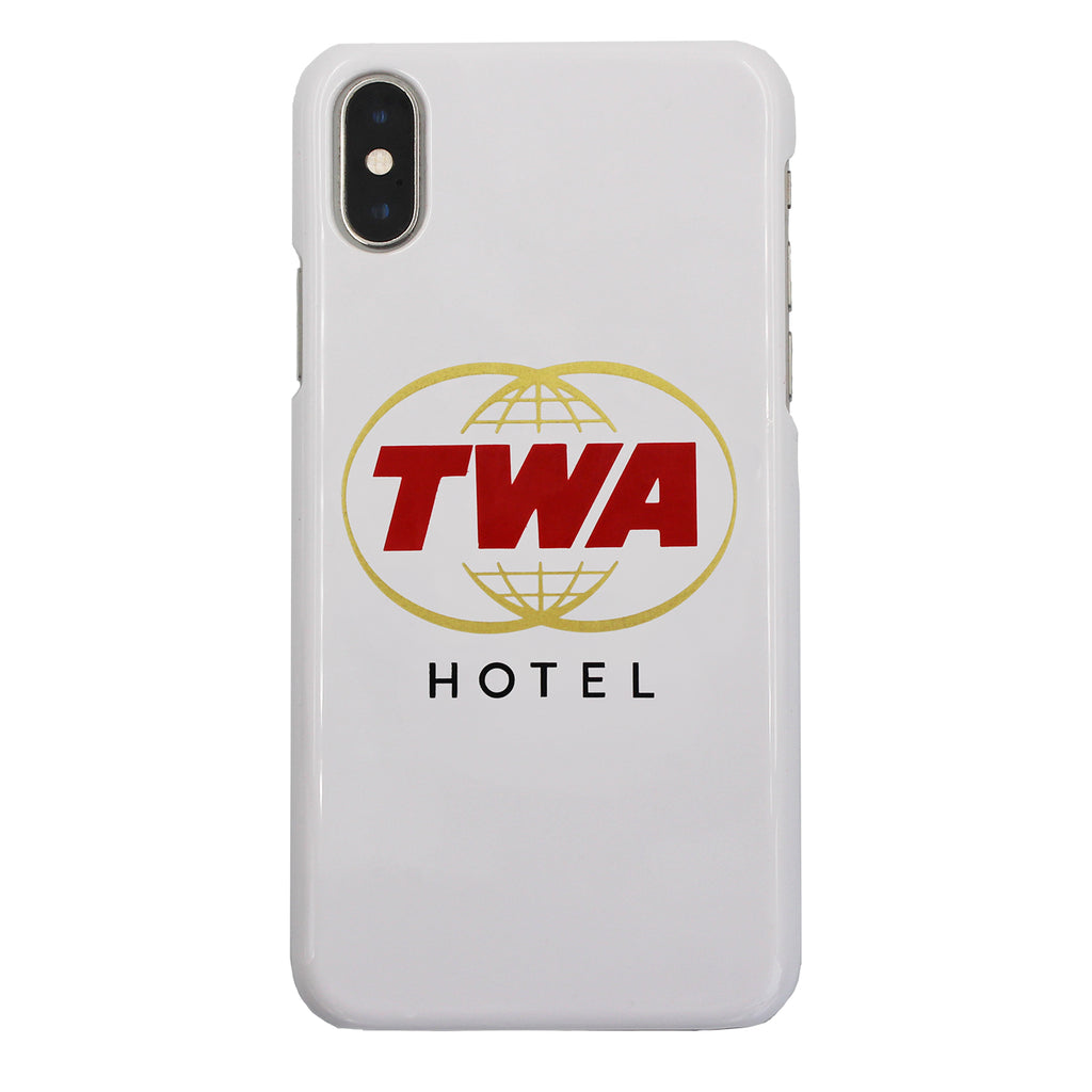 TWA Twin Globes Logo iPhone Case