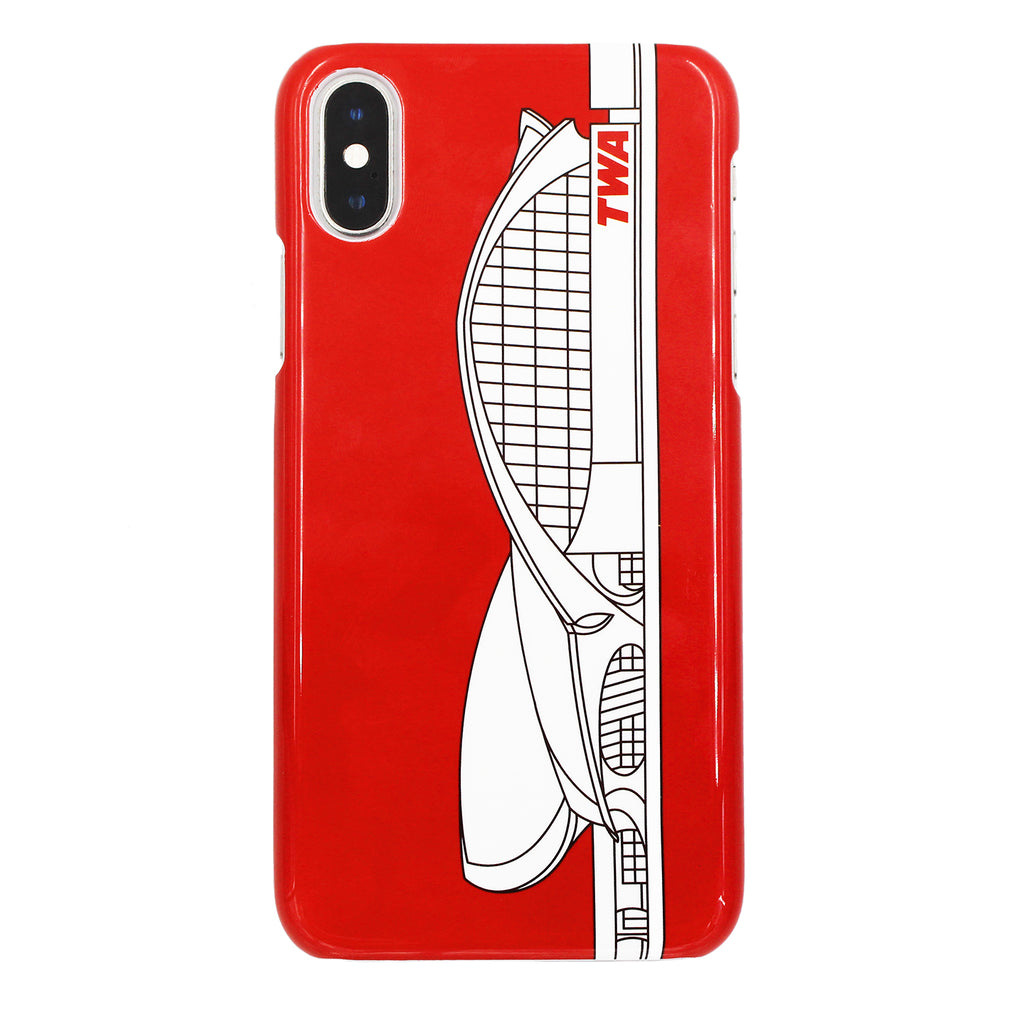 TWA Flight Center iPhone Case