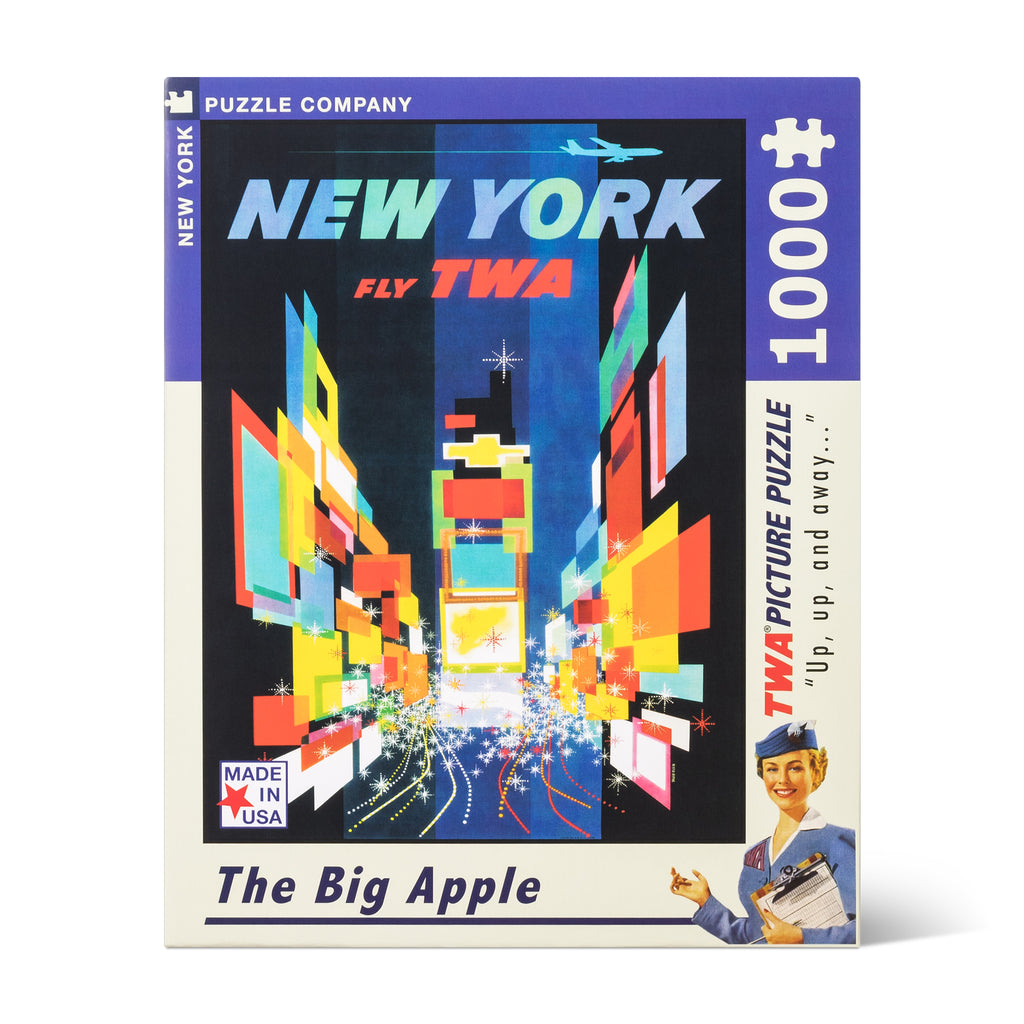 David Klein TWA New York Puzzle