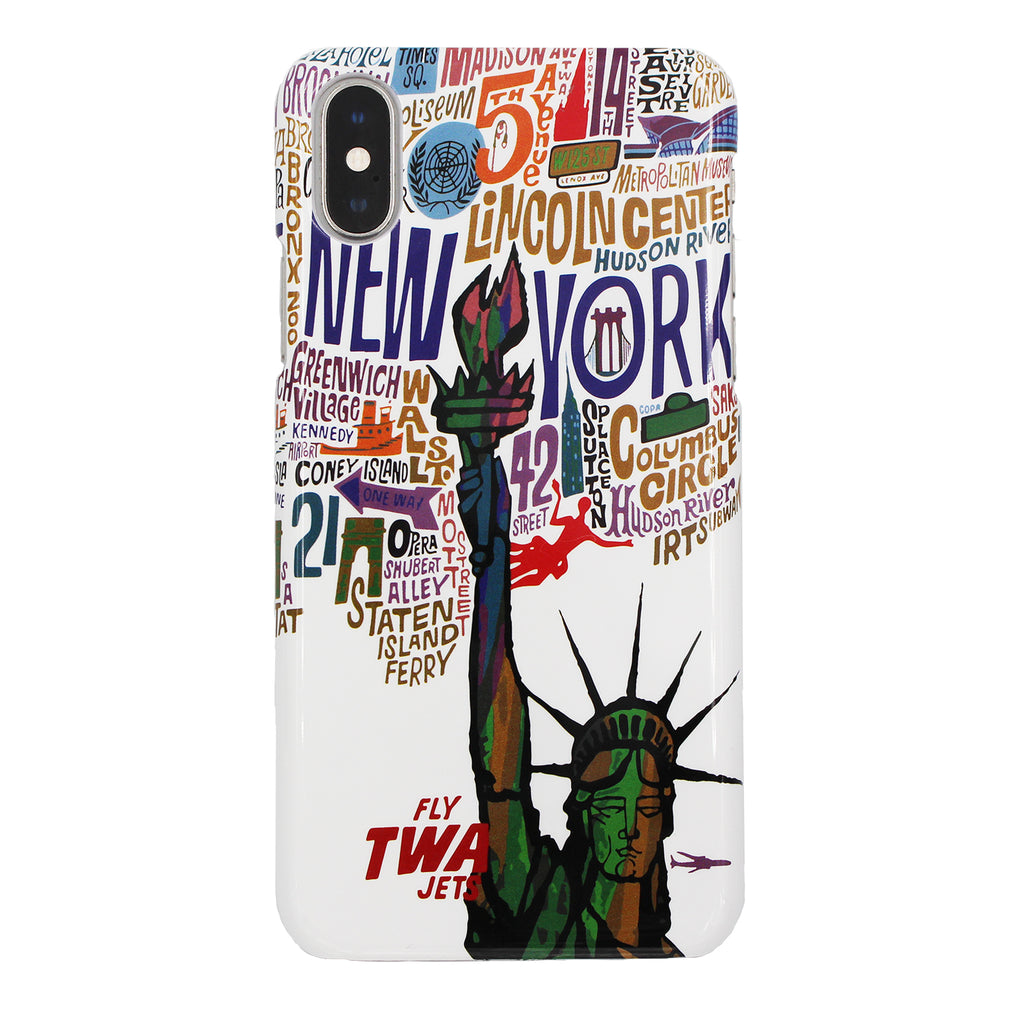 David Klein TWA New York iPhone Case