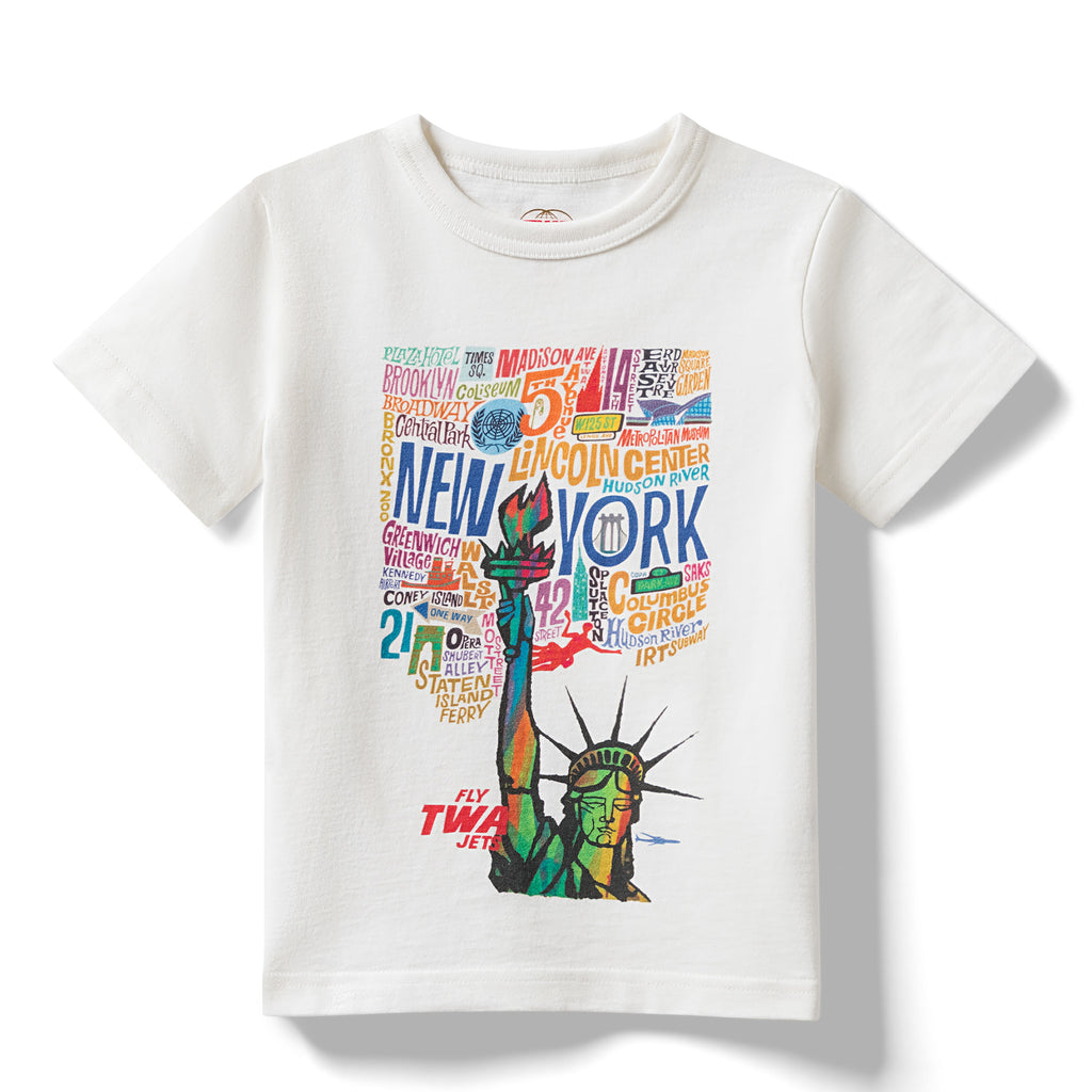 David Klein TWA New York T-Shirt (Kids)