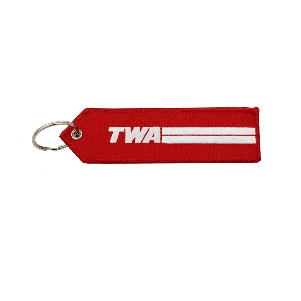TWA Remove Before Flight Keychain