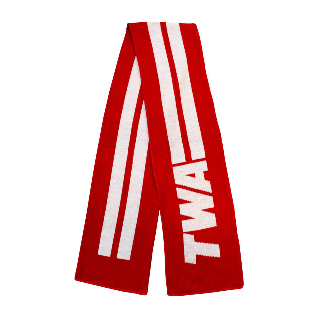 TWA red Sportsman Scarf