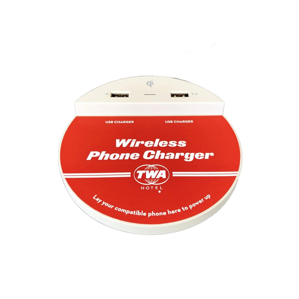 TWA Hotel Guestroom Wireless Phone Charger