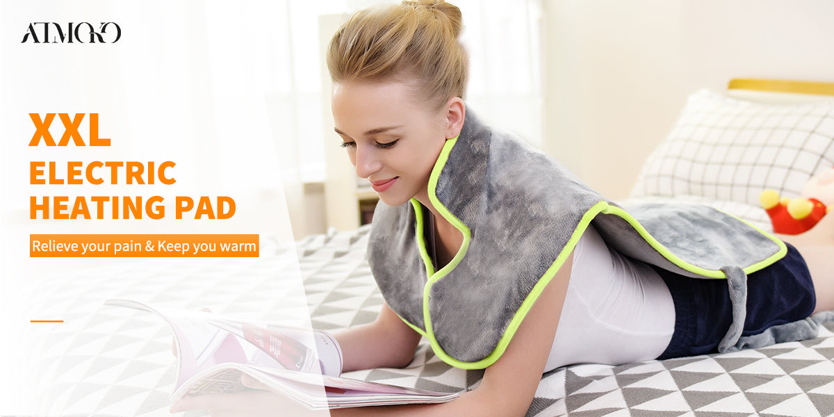 ATMOKO Electric Heating Pad Ensures You Warmness in Cold Days