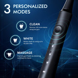 ATMOKO Electric Toothbrushes for Adults with 10 Duponts Brush Heads