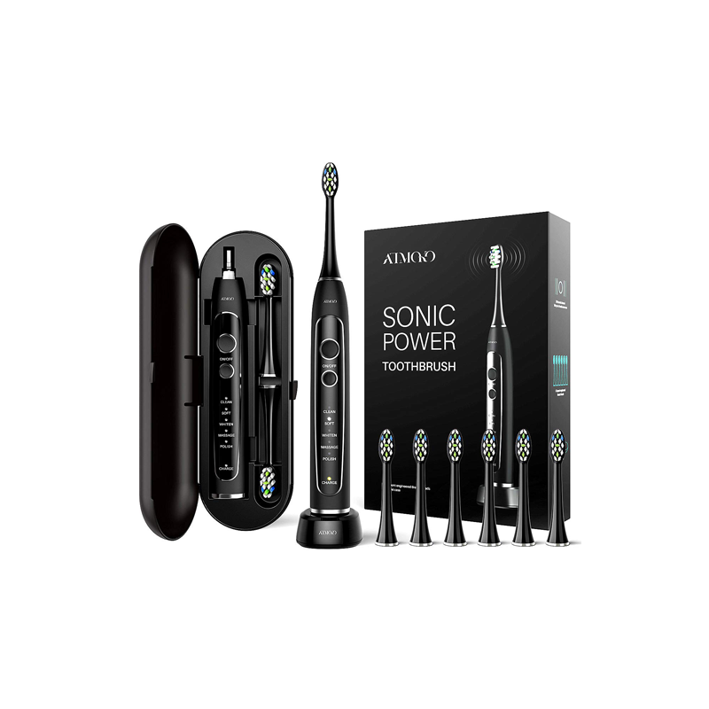 ATMOKO Electric Toothbrush, Sonic Power Whitening Toothbrush