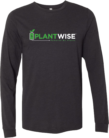 Plant Wise Logo Long Sleeve Tee