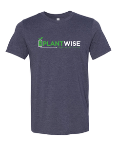 Plant Wise Logo T-Shirt - Blue