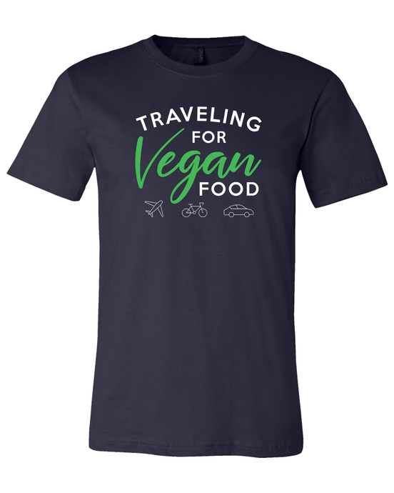 Traveling For Vegan Food T-Shirt