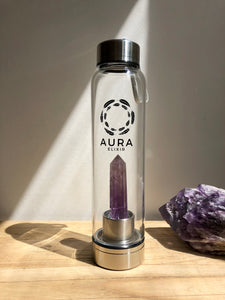 Amethyst Elixir Water Bottle