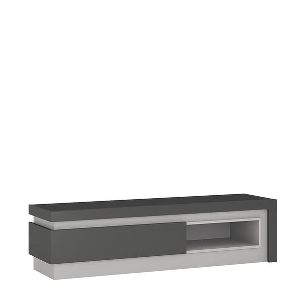 TV Cabinet With Open Shelf   - Home Affections