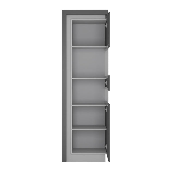 Tall Narrow Display Cabinet (RHD) - Home Affections