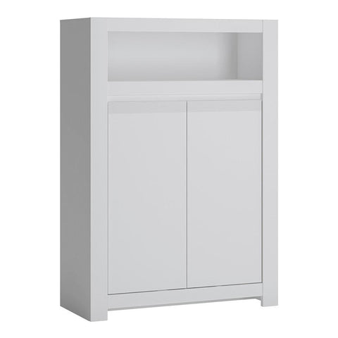 Cabinet in Alpine White - Home Affections