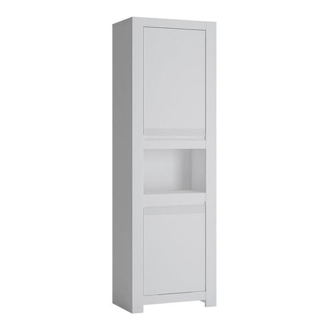 Novi 2 Door Chiffonier in Alpine White - Home Affections
