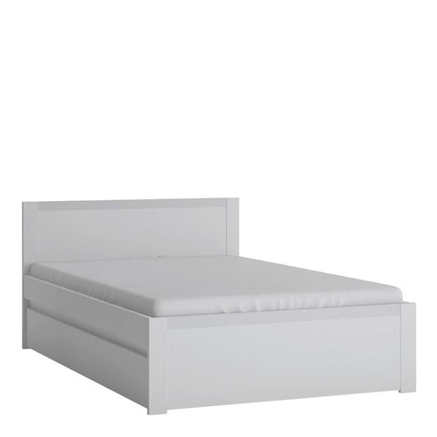120cm Bed in Alpine White - Home Affections