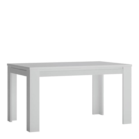 Extending Dining Table in Alpine White - Home Affections