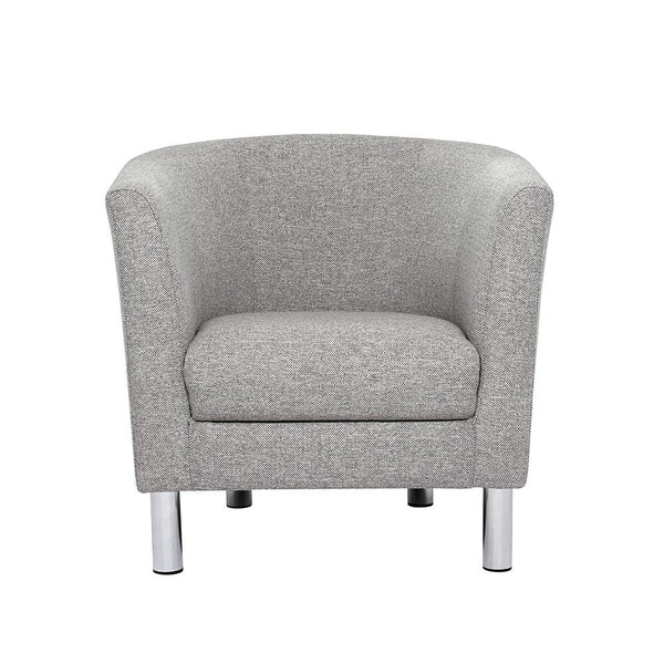 Armchair Light Grey - Home Affections