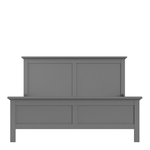 Super King Bed In Matt Grey - Home Affections