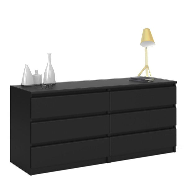 Wide Chest In Black Matt - Home Affections