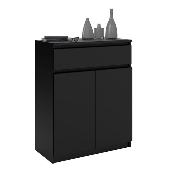 Small Sideboard In Black Matt - Home Affections