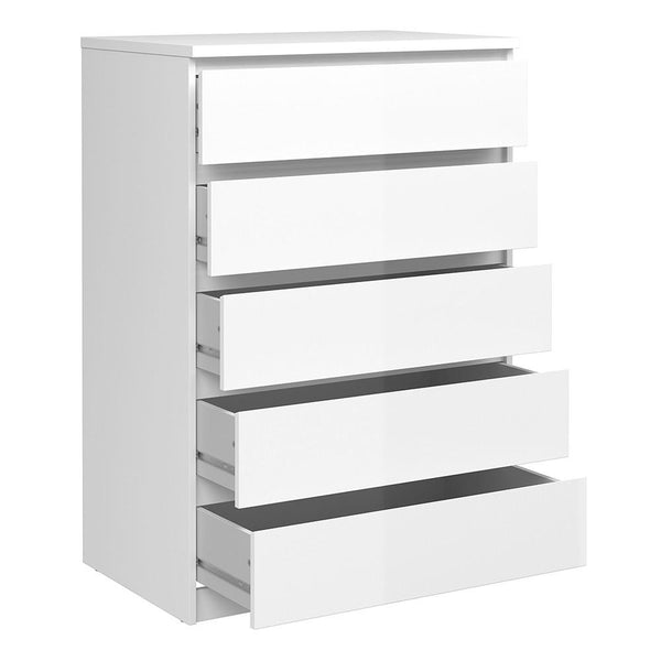 Chest In White High Gloss - Home Affections
