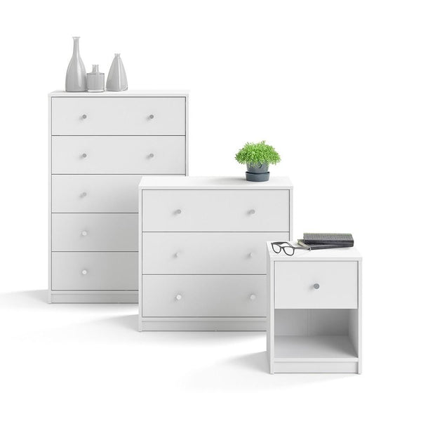 Chest Drawers In White - Home Affections