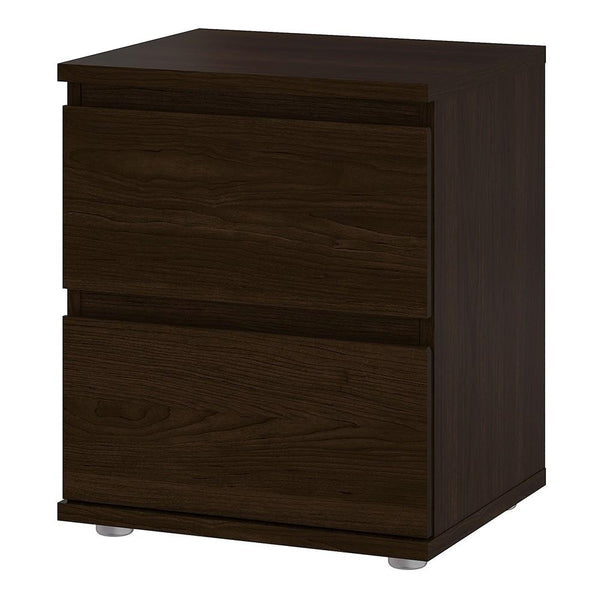 Bedside Table In Coffee - Home Affections