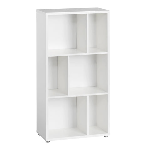 Low Bookcase In White - Home Affections