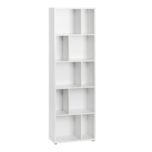 Bookcase In White - Home Affections