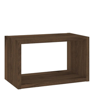 Wall Shelf In Walnut - Home Affections