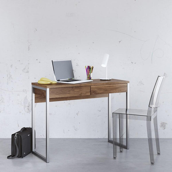 Desk In Walnut - Home Affections
