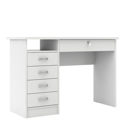 Desk In White - Home Affections