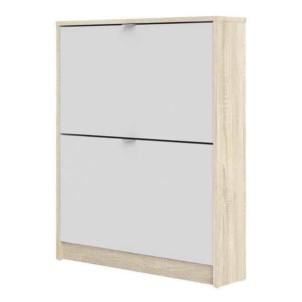Thin Mid Shoe Cabinet - Home Affections