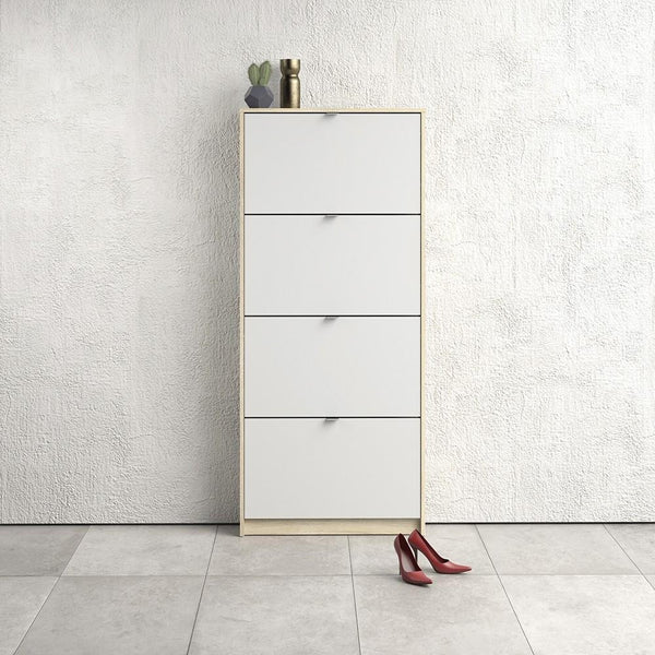 Thin Tall Shoe Cabinet - Home Affections