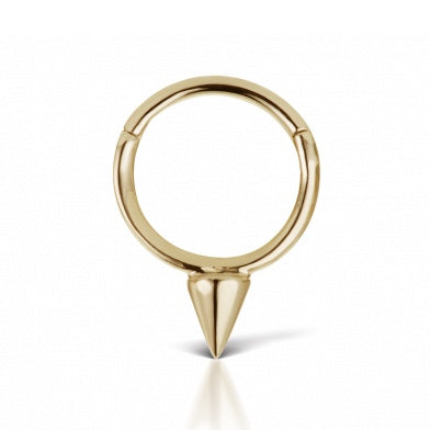 Maria Tash 8mm Single Spike Ring *Multiple Gold Options Available*