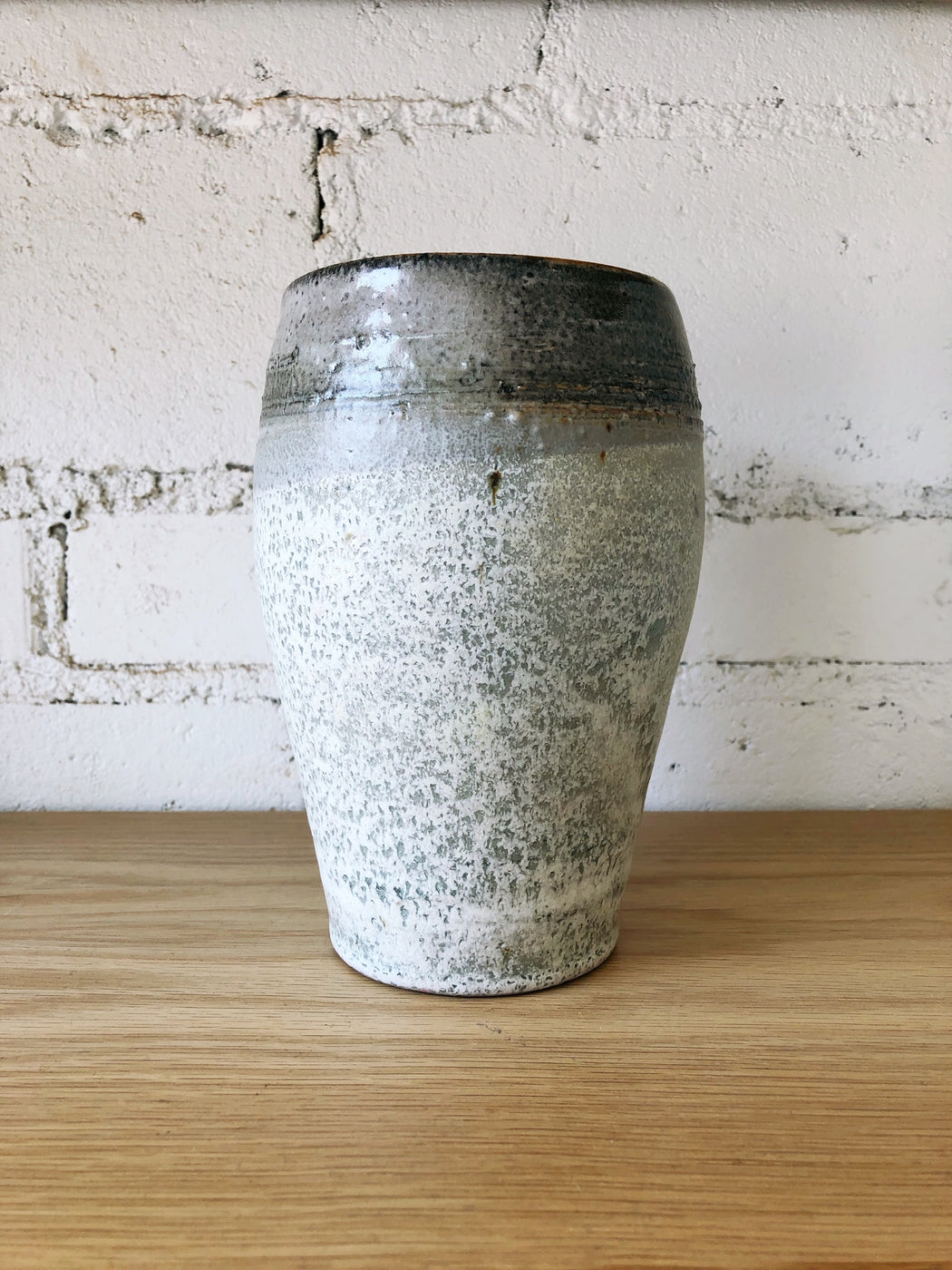 Tall Ceramic Glazed Pot