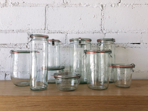 Weck Glass Storage Containers