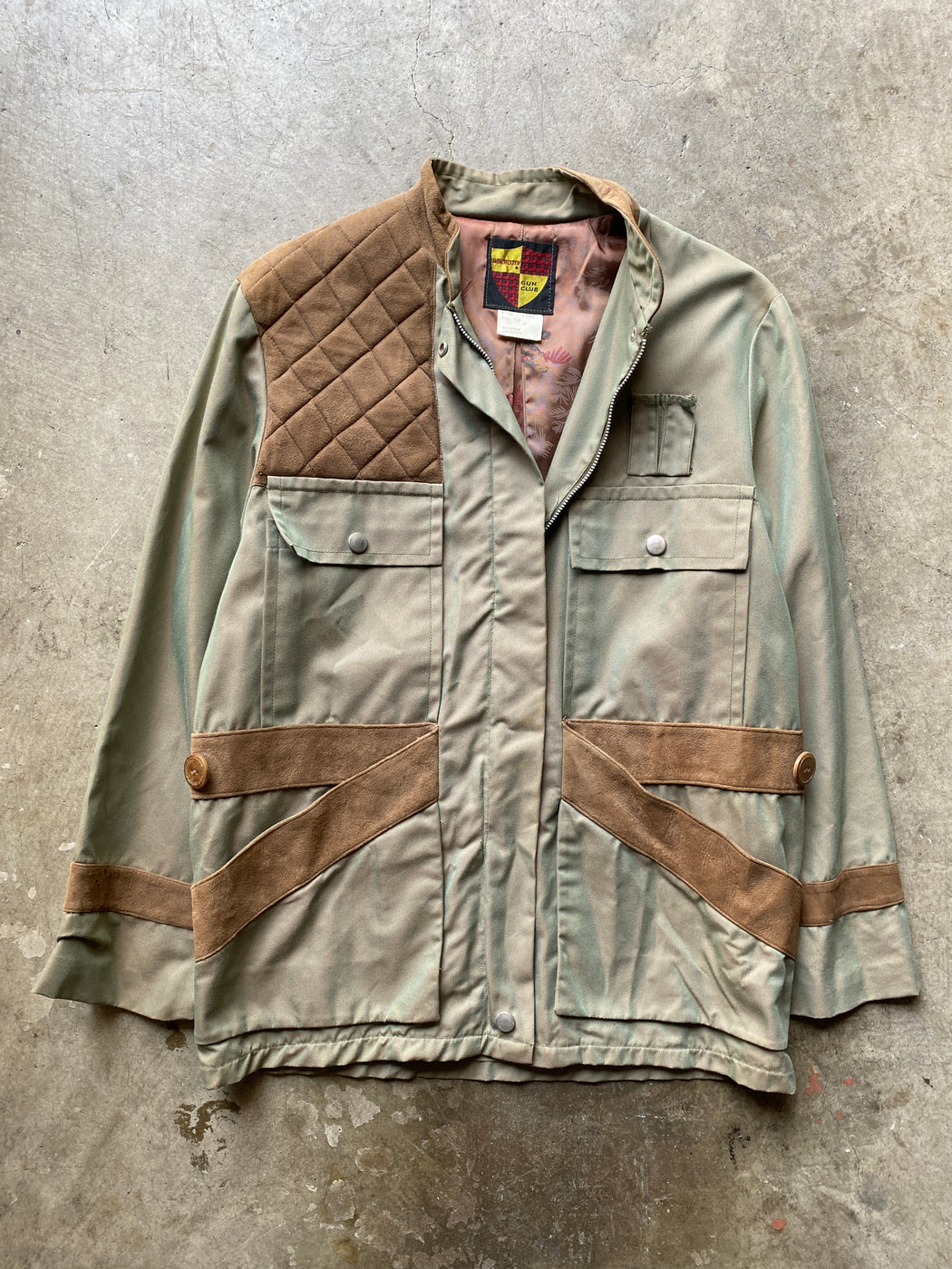 Olive Iridescent Hunting Jacket
