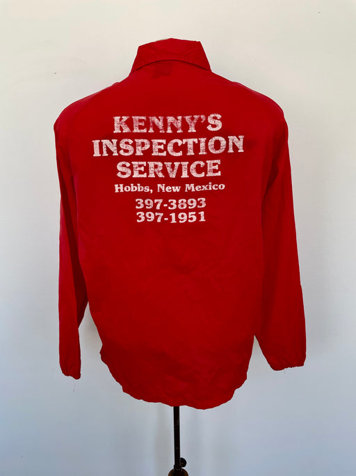 "Vintage 'Kenny's Inspection Service"" Coach Jacket"