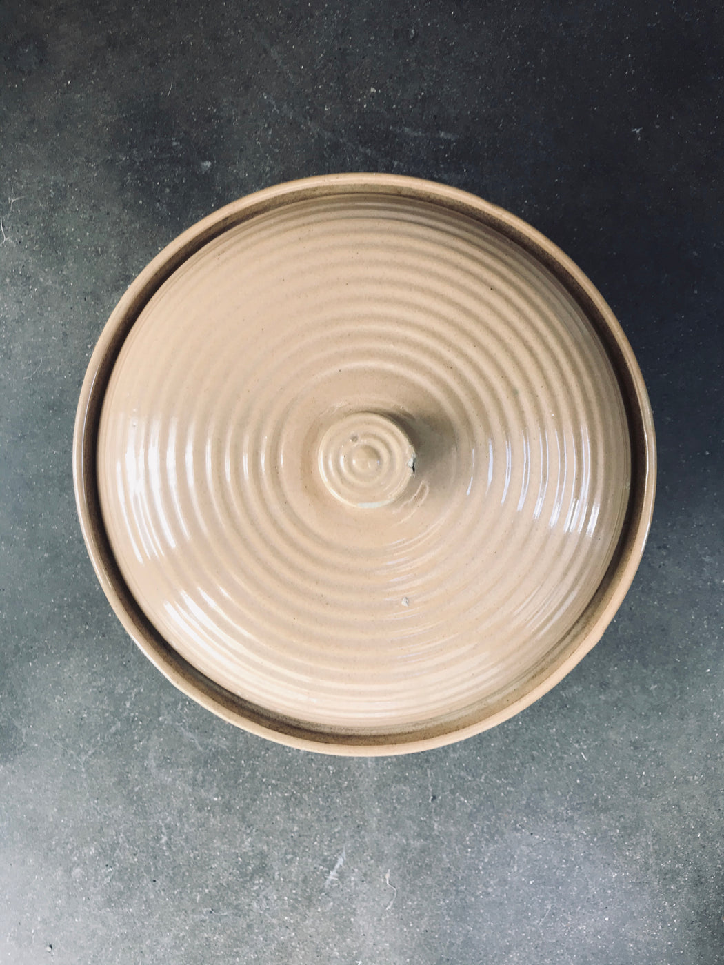 Tan Baking Bowl