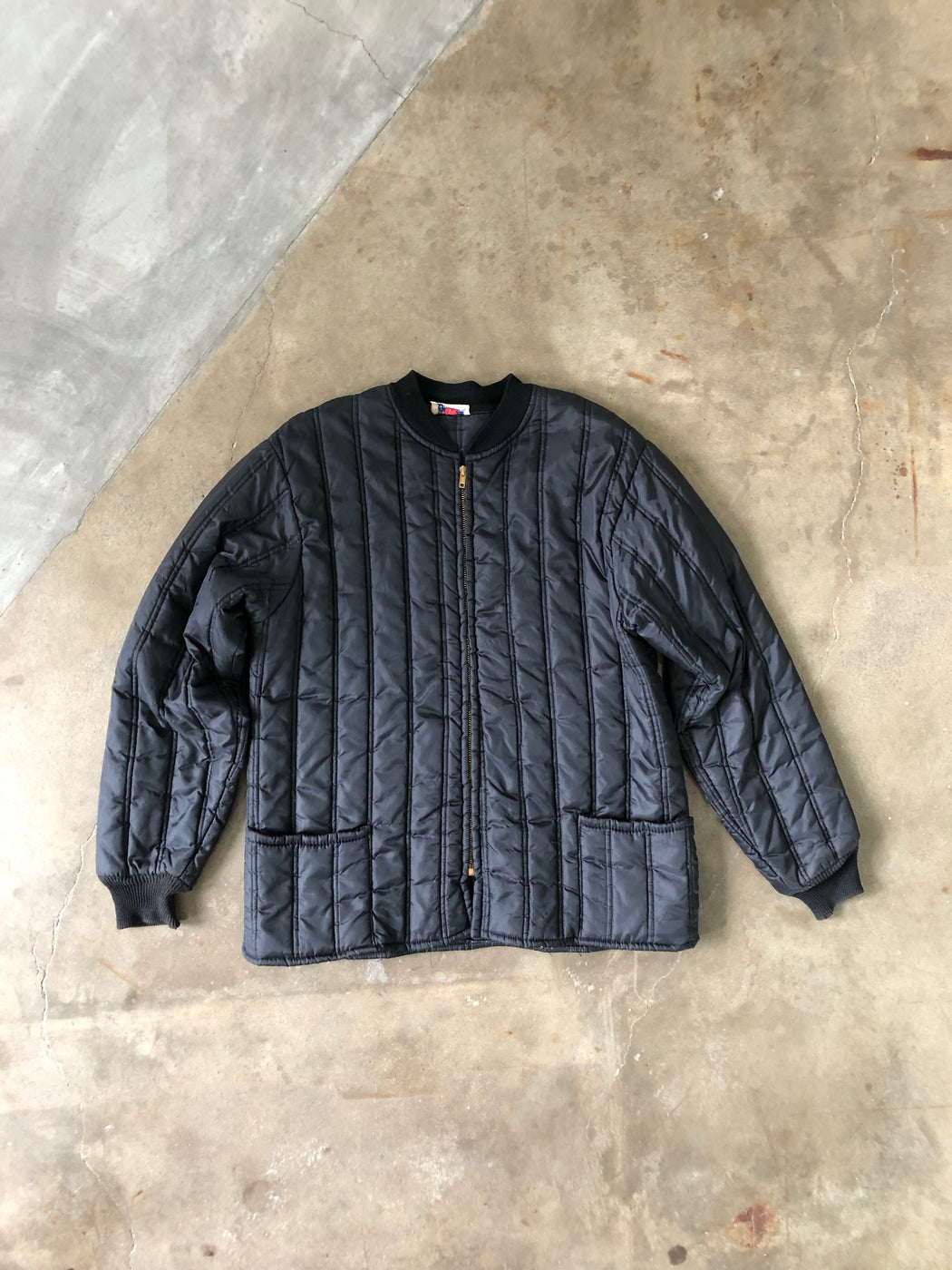Vintage Midwest Outerwear Quilted Bomber