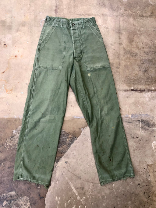 Vietnam Era OG-107 Sateen Trousers