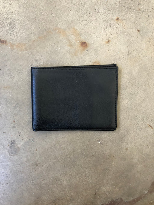 Vintage Black Leather Wallet