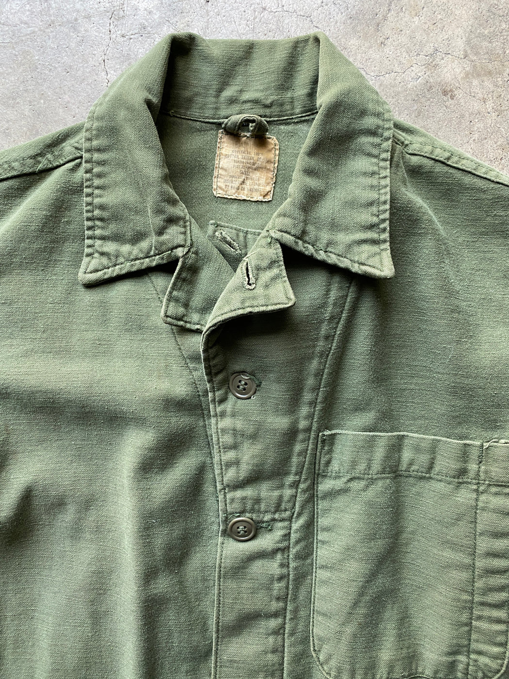 Olive Military Flight Suit Coverall