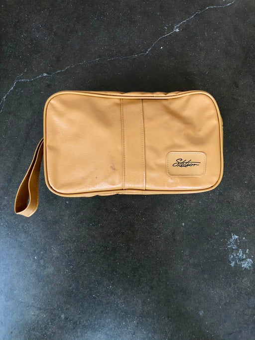 Vintage Stetson Leather Dopp Kit