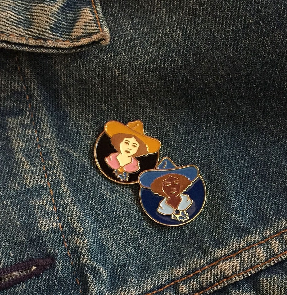 Lady Lou Lapel Pin