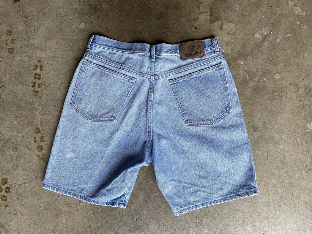 Wrangler Jean Shorts Light Wash